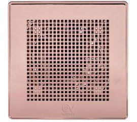 """Vortice ME 100/4"""" LL T Punto Evo PRÉMIUM rózsa-arany színű fürdőszoba, wc ventilátor, időkapcsolóval, előkésleltetéssel, IP45"""