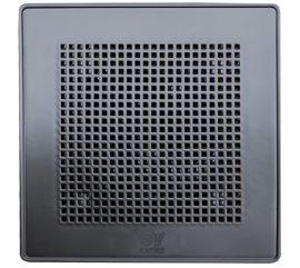 """Vortice ME 100/4"""" LL T Punto Evo PRÉMIUM fekete színű fürdőszoba, wc ventilátor, időkapcsolóval, előkésleltetéssel, IP45"""