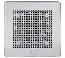 """Vortice ME 100/4"""" LL T Punto Evo PRÉMIUM ezüst színű fürdőszoba, wc ventilátor, időkapcsolóval, előkésleltetéssel, IP45"""
