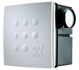 Vortice Micro 100 I T HCS radiális kisventilátor süllyesztett házzal, állítható időkapcsolóval, páraérzékelővel