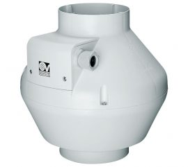 Vortice CA 125-VO D in-line centrifugális csőventilátor