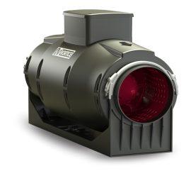 Vortice Lineo Quiet 125 T műanyagházas félradiális hangcsillapított csőventilátor időkapcsolóval