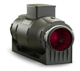 Vortice Lineo Quiet 150 T műanyagházas félradiális hangcsillapított csőventilátor időkapcsolóval