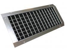 DGD 425x125 kétsoros rács SD légcsatornához