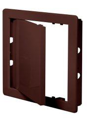 Awenta DT10BR műanyag szervizajtó 150X150 barna színben