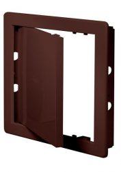 Awenta DT14BR műanyag szervizajtó 200X300 barna színben