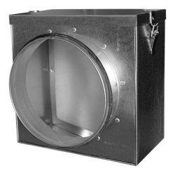FKO160 fém szűrődoboz EU4-es szűrővel, gumitömítéssel