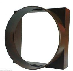Awenta KO100-29BR műanyag átalakító idom barna színben NA100-90X90