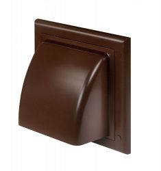 Awenta KO100-30BR műanyag ereszelem barna színben