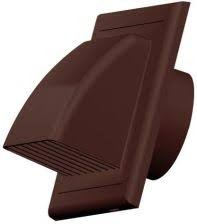 Awenta KO150-30BR műanyag ereszelem barna színben