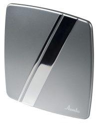 Awenta HSF PLS100 LINEA előlap, ezüst színben