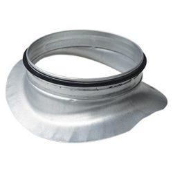 PSL 80/80 fém nyeregidom, gumitömítéssel