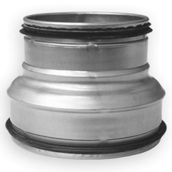 RCPL 160/100 préselt fém szűkítő idom, gumitömítéssel