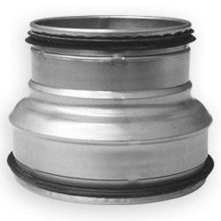 RCPL 250/125 préselt fém szűkítő idom, gumitömítéssel