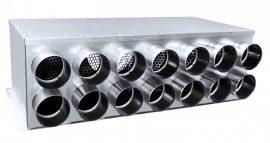 RPD 14-es horganyzott acél osztódoboz 75 mm-es leágazásokkal