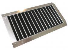 SGD 625x125 egysoros rács SD légcsatornához
