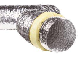 Sonoflex254 /AF013 hang-és hőszigetelt flexibilis cső, párazáró fóliával, 140°C-ig