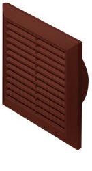 Awenta T61BR négyszögletes fali rács 170X170 rovarhálóval, barna színben NA100