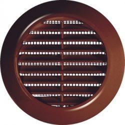 Awenta T75BR bútor, ajtórács rovarhálóval, barna színben NA70
