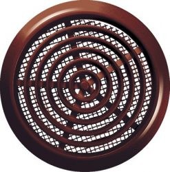 Awenta T76BR bútor, ajtórács rovarhálóval, barna színben NA80