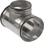 TCPL 450/450 fém EGÁL T idom, gumitömítéssel