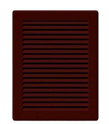 Awenta TRU24BR négyszögletes fali rács 200X300 rovarhálóval, barna színben