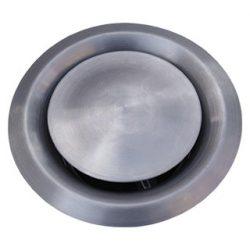 VS150 inox fém légszelep