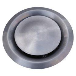 VS160 inox fém légszelep